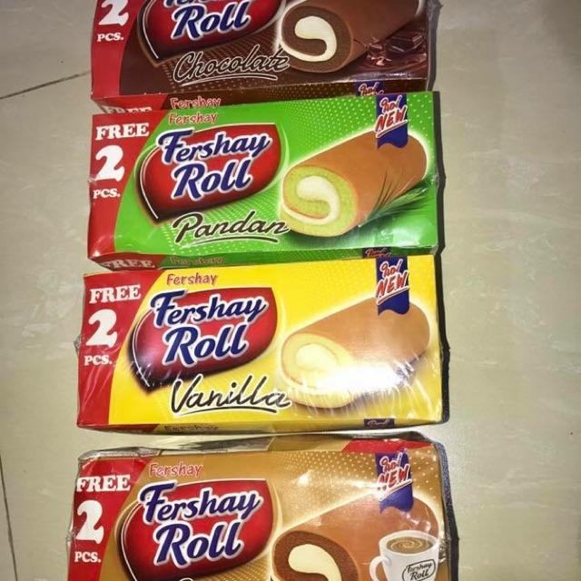 Combo 12 hộp Bánh bông lan Fershay Roll