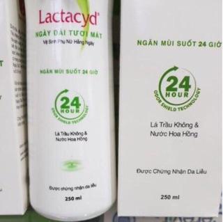 Lá trầu không - Dung dịch vệ sinh phụ nữ Lactacyd ngày dài tươi mát 150ml 250ml 2