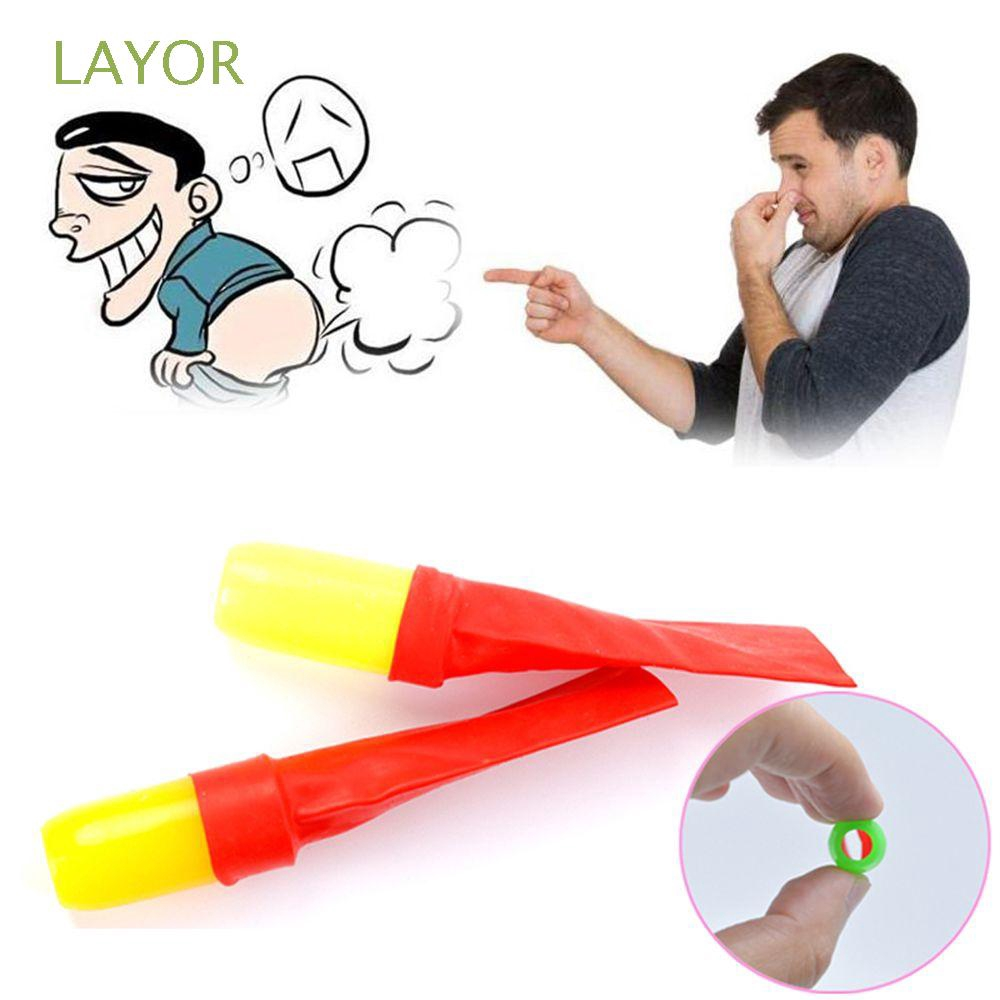 LAYOR 2pcs Funny Novelty Classic Kids Gift Trick Fart Whistle