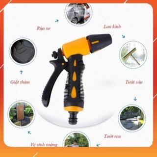❤️ Vòi xịt nước tăng áp thông minh rửa xe, tưới cây có đầu xoay tiện lợi M319622162236224