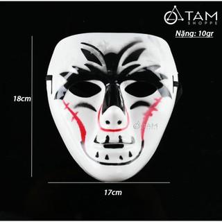 Mặt nạ Hiphop Ghost Dance Step nhựa HLW-MN-33 TAN mã SHK47 mã HBB22