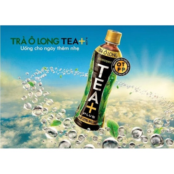 NƯỚC TRÀ Ô LONG TEA PLUS chai 455ml