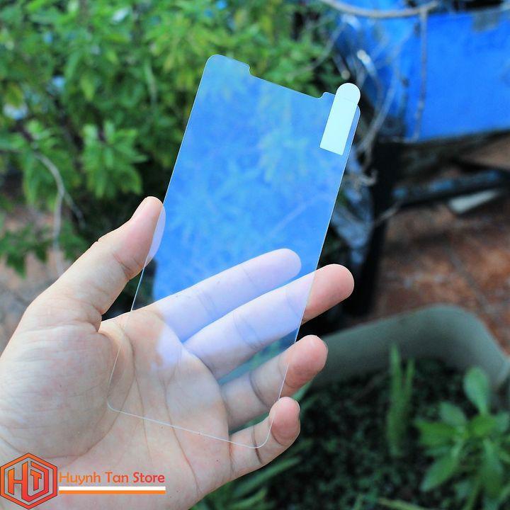 Cường lực Xiaomi Mi 8 trong suốt không full màn (tặng kèm keo chống hở mép màn)