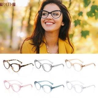 PATH Anti Blue Rays Computer Glasses Flexible Portable Eye wear Vision Care Ultra Light Resin Women Men Fashion High Quality Eyeglasses brown/leopard/blue