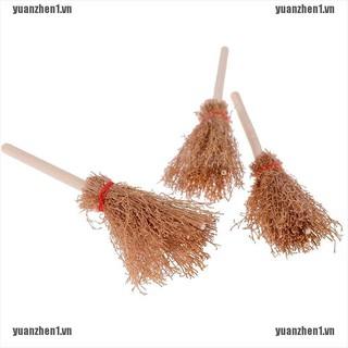 【YUANZHEN1】1:12 Dollhouse miniature broom doll house diy kitchen accessory
