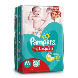 BỈM PAMPER QUẦN BABY-DRY JUMBO ĐỦ SIZE M74 L68 XL62 XXL56 CỰC ĐẠI thumbnail