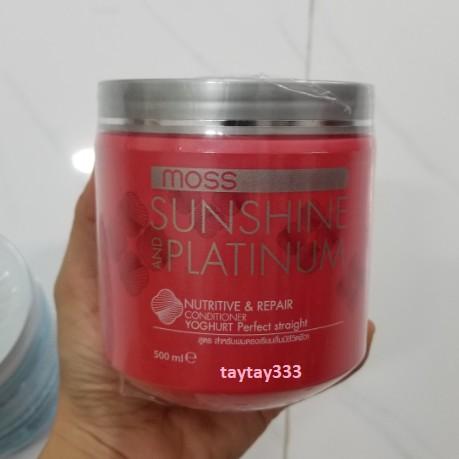 Kem ủ tóc Dcash Sunshine Platinum Moss 500ml