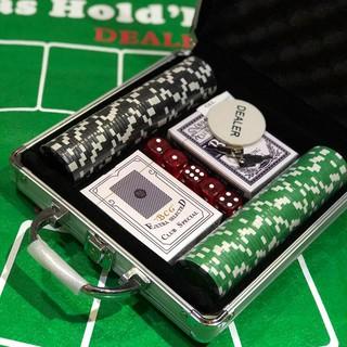 Set Phỉnh Poker 100pcs