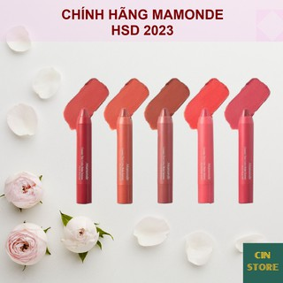Son Bút Chì 3 In 1 Mamonde Creamy Tint Color Balm Intense 2.5g