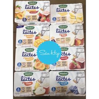 [Mã MKBCS01 hoàn 8% xu đơn 250K] Sữa chua Bledina của Pháp nhiều vị lốc 6 hộp thumbnail