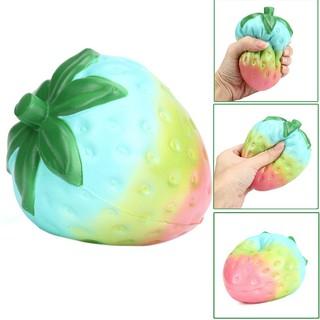 Đồ chơi Squishy dâu tây nhiều màu , có mùi thơm |Loamini565