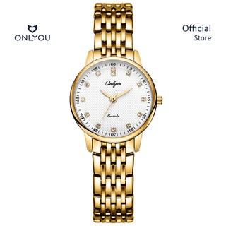 Đồng hồ Onlyou Nữ 8897LF Dây thép không gỉ 28mm thumbnail