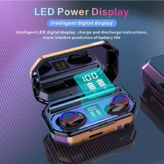 Tai nghe Bluetooth M21 9d 3500mah âm thanh sắc nét kèm phụ kiện