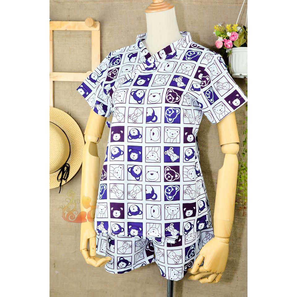 """Bộ đồ mặc nhà Kimono Kate Thái - """"Gấu Ô Vuông"""" - Dưới 60kg - 15305743 , 1055710063 , 322_1055710063 , 120000 , Bo-do-mac-nha-Kimono-Kate-Thai-Gau-O-Vuong-Duoi-60kg-322_1055710063 , shopee.vn , Bộ đồ mặc nhà Kimono Kate Thái - """"Gấu Ô Vuông"""" - Dưới 60kg"""