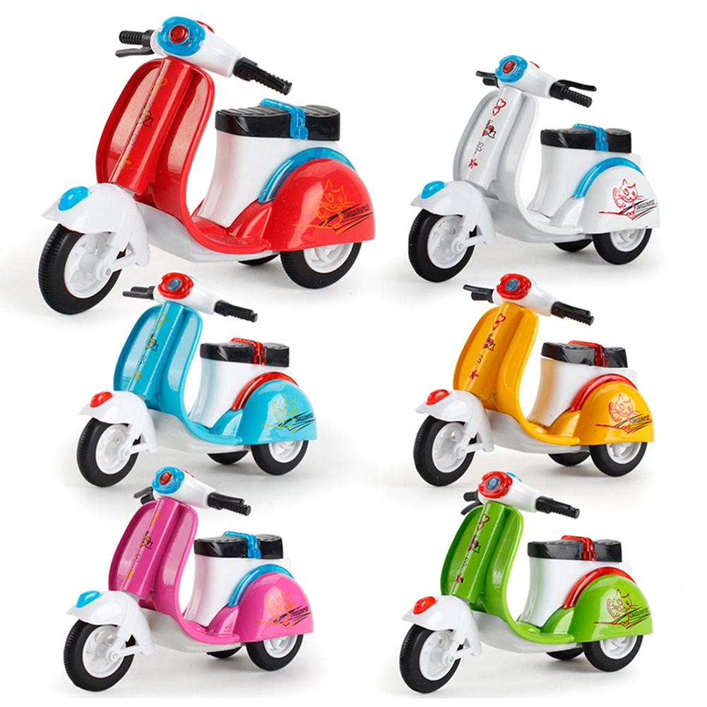 Pull Back Inertia Alloy Kids Educational Gift Mini Motorcycle Toy
