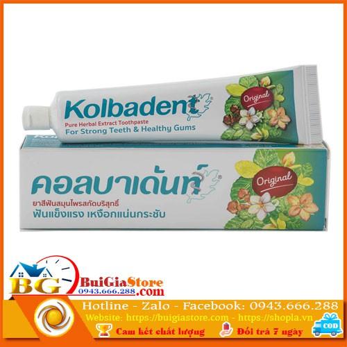Kem đánh răng thảo dược Kolbadent Thái Lan 100g