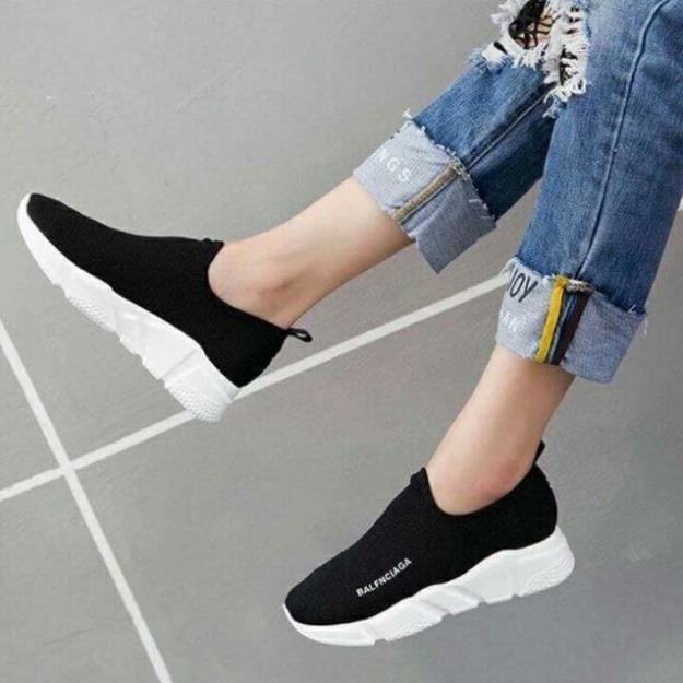 (HOT TREND) Giày lười the thao nữ