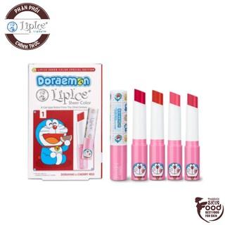 [LipIce Sheer Color Special Edition] Son Dưỡng Môi Có Màu LipIce Doraemon Sheer Color 2.4g thumbnail