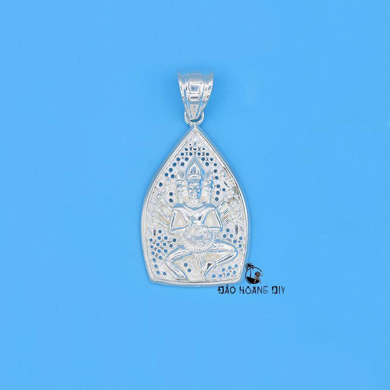 Mặt dây chuyền bạc Phật Thiên Thủ Thiên Nhãn PVN259