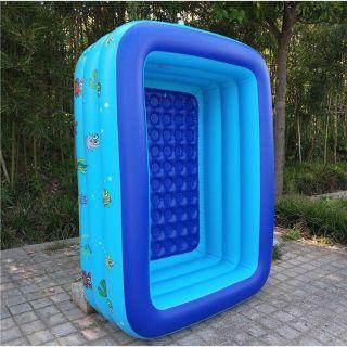 Bể bơi phao 3 tầng 150x110x55cm mẫu mới 2020