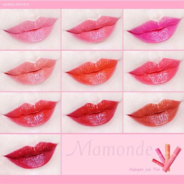 (Sale) Son tin kem Mamonde Highlight lip tint