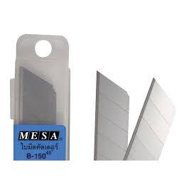 Bộ Lưỡi Dao Rọc Giấy Mesa S-100 45 độ (6 Cái/Hộp)
