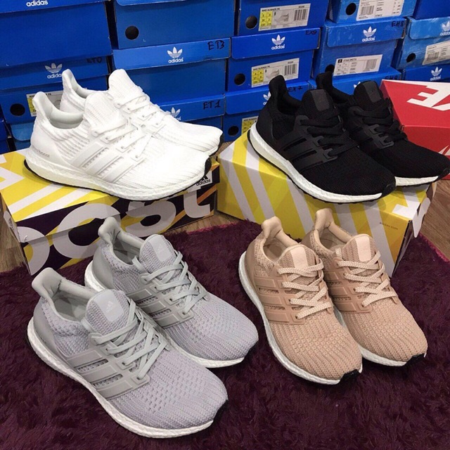 Perfect Adidas Ultra Boost 19 W Core Black, Orchid Tint & Red