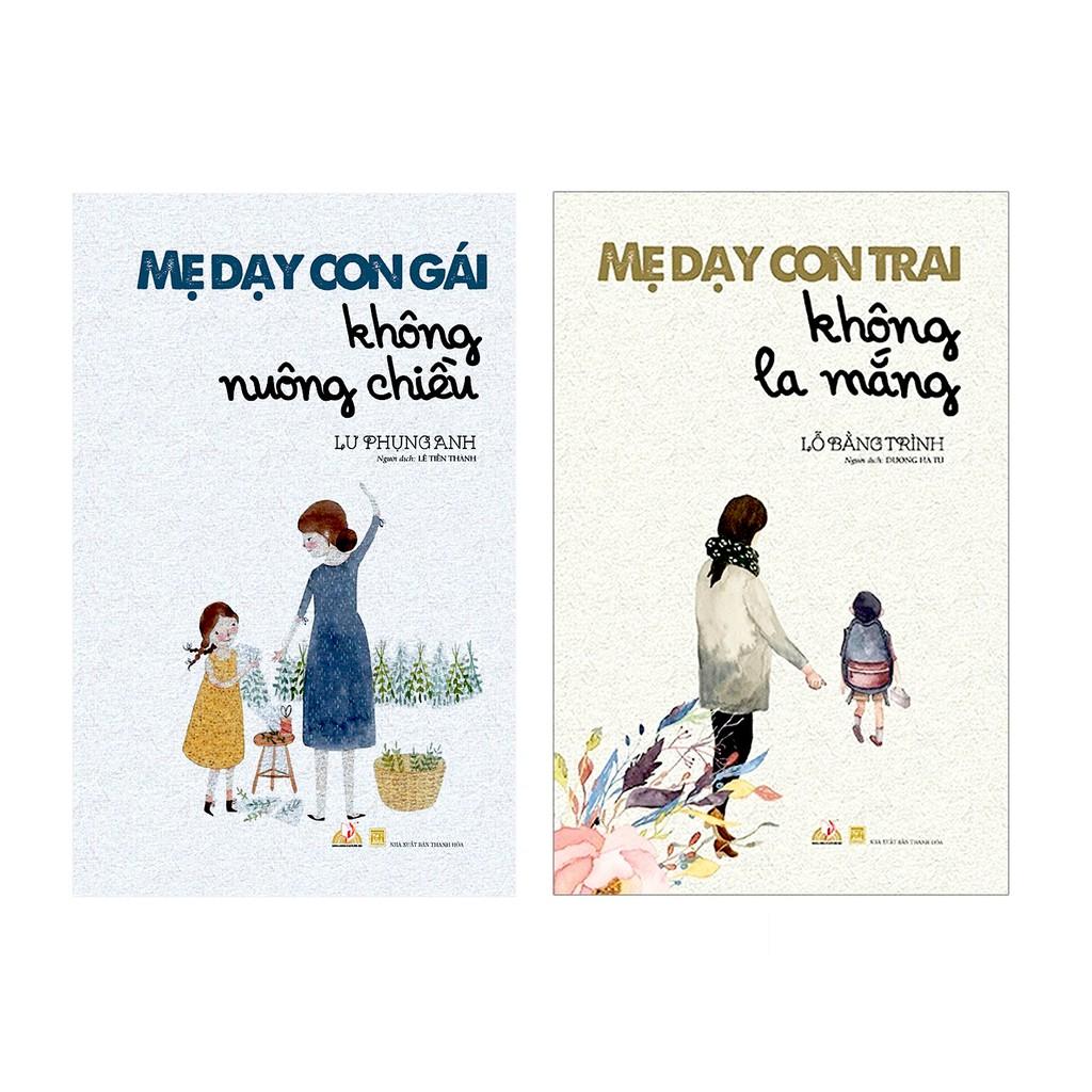 Sách Combo 2 Cuốn Mẹ dạy con trai không la mắng + Mẹ dạy con gái không nuông chiều