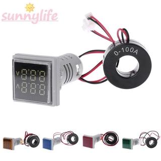 Indicator Voltmeter Digital Dual Display Mining machinery Gauge Meter For telecommunication Machine tool Textile