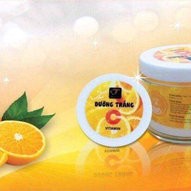 Kem body Cam vitamin C