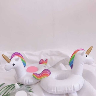 Inflatable PVC Cup Holder Horse Drink Water Toys Party Beverage Boats Phone_FF86