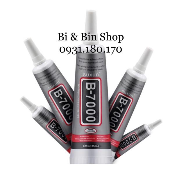 Keo B7000 Dán Phụ Kiện - Đính Đá