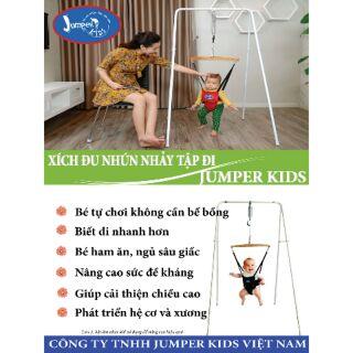 (Giảm ngay 130k ib shop)Xích đu nhún nhảy cho bé tập đi JUMPER KIDS