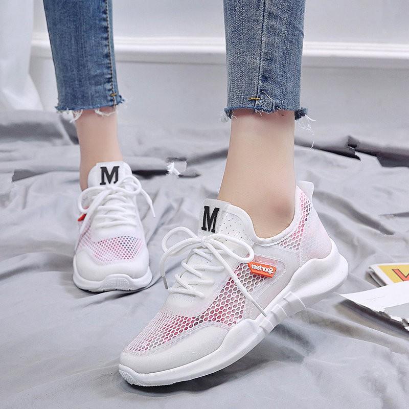 Giày nữ chất thoáng mát mặt lưới GO107992