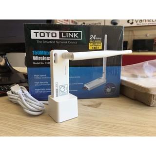 Bộ thu Wifi chuẩn N Totolink N150UA 150Mbps có Docking nối dài 1,5m 5.0