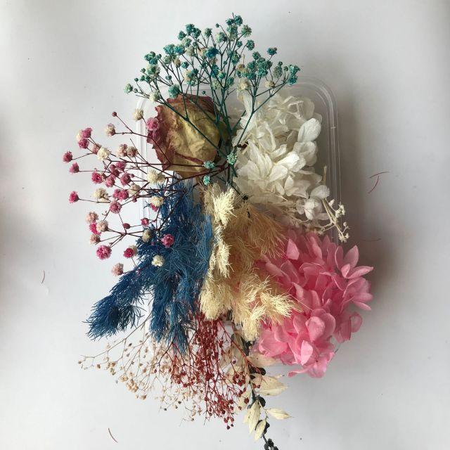 Hoa khô Vĩnh Cửu - Set hỗn hợp trên 10 loại hoa