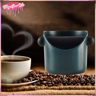 Coffee Knock Box with Detachable Knock Bar Non Slip Coffee Grounds Bin Coffee Grind Container