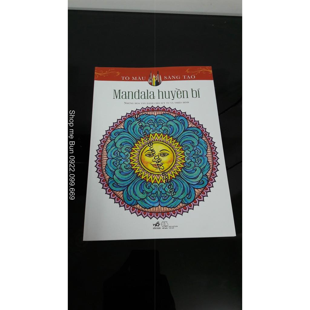 Sách Mandala tô màu