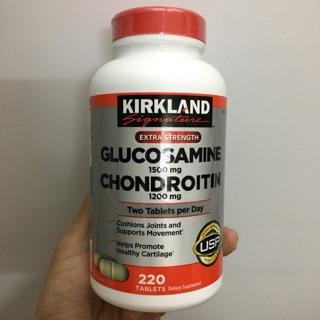 Viên uống Glucosamine 1500mg và Choidrotin 1200mg ( 220 viên -mỹ)