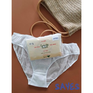 Combo 6 quần lót bầu miễn giặt tiện lợi, không hóa chất tẩy trắng