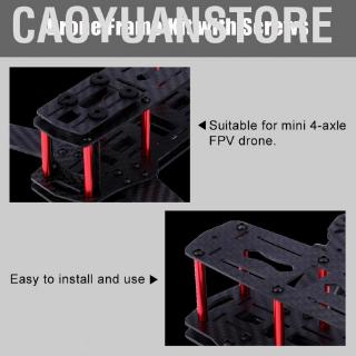 Caoyuanstore 2Types 250MM RC Helicopter Spare Parts Quadcopter FPV Aircraft Drone Frame Kit Accessory for QAV250 A