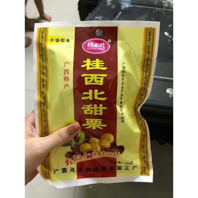 Combo 12 gói hạt dẻ mật Quảng Tây