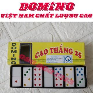 Đồ chơi cờ Domino bằng nhựa Cứng ✓Giá rẻ ✓Vui nhộn