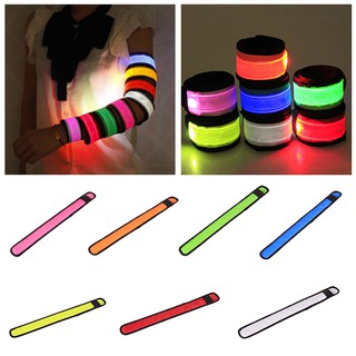 LED Flashing Light Up Glow Bracelet Wristband Vocal Concert Party Props Gift H29