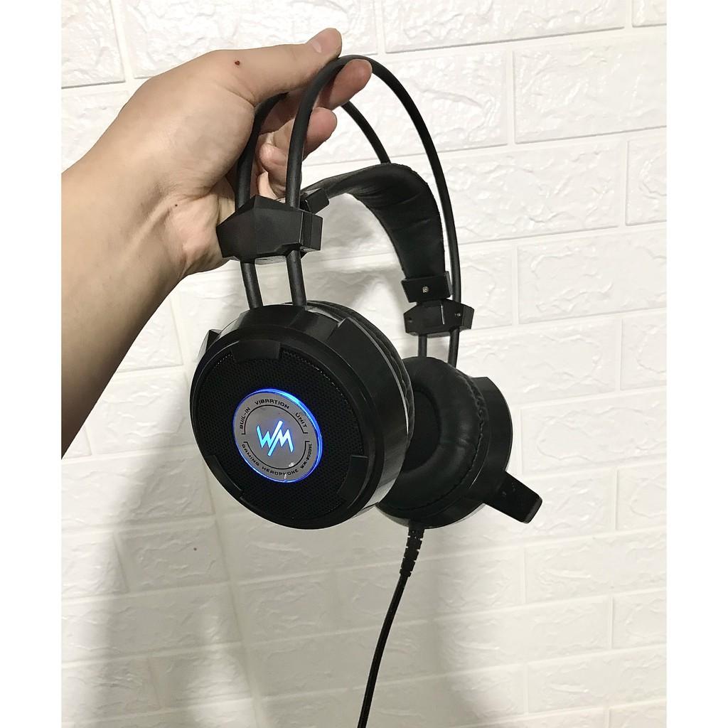 [Mã ELFLASH3 hoàn 10K xu đơn 20K] Tai Nghe WangMing WM 8900L LED | headphone wangming 8900l - Đã Qua Sử Dụng