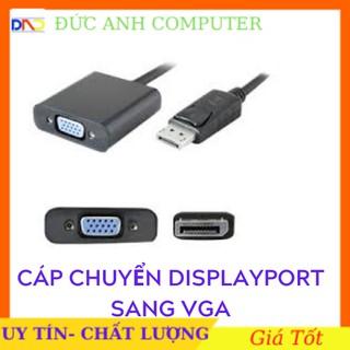 [Mã ELORDER5 giảm 10K đơn 20K] Cáp Chuyển Displayport Sang VGA- Hàng Loại Tốt- Hỗ Trợ 1080p