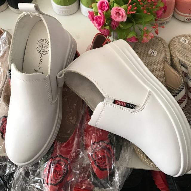 Sale giày Slip on đế độn 99k