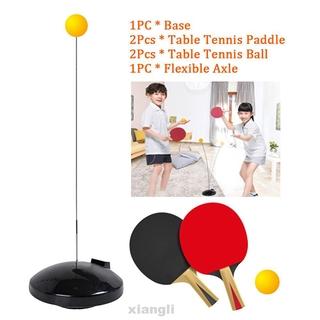 Paddle Balls Elastic Rapid Professional Portable Fixed Shaft Table Tennis Trainer Set