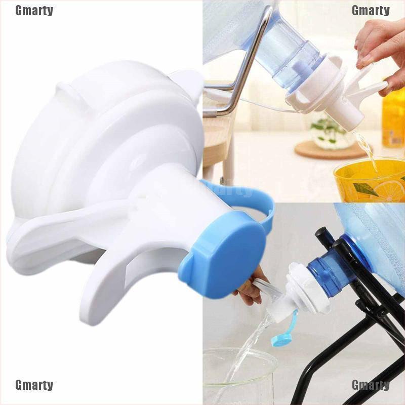 Gmarty Water Bottle Top Spigot Valve Faucet Dispenser Bucket Bibcock Press Pump Home