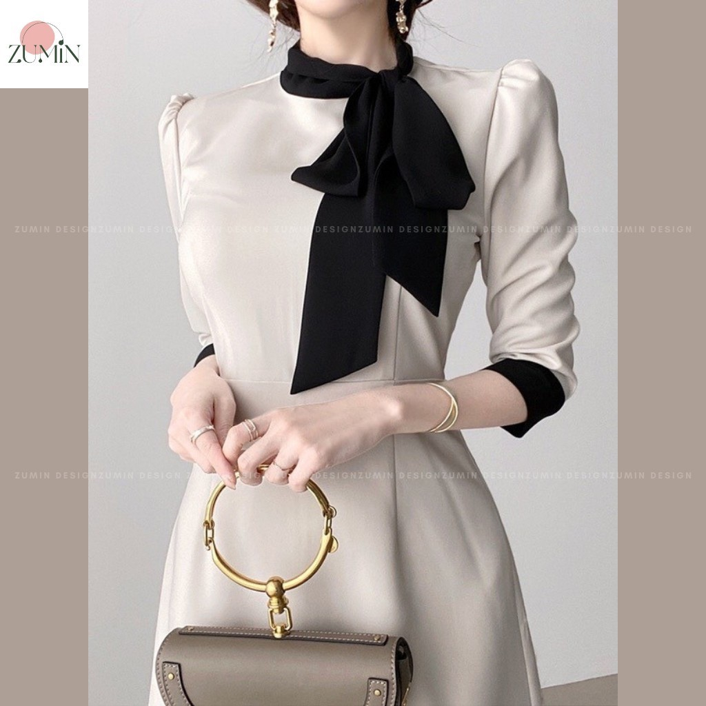 Mặc gì đẹp: Sang trọng với Đầm thiết kế cao cấp phong cách Hàn Quốc, váy thiết kế thanh lịch sang trọng, váy công sở, đầm dự tiệc